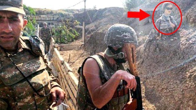 Ermenistan'dan bir PKK taktiği daha! Sınır bölgesine Rus bayrakları dikmeye başladılar