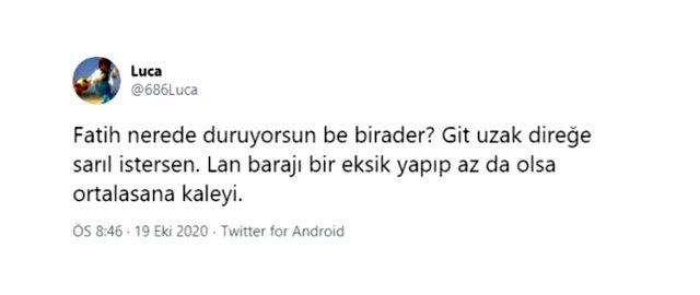 Fatih Öztürk'ün yaptığı hareketler Galatasaray taraftarını çileden çıkardı