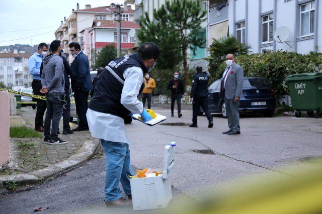 İki grup arasında çıkan tartışmada ateşlenen saçma, balkona çıkan vatandaşın kafasına isabet etti