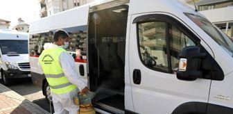 Şükrü Sözen: Manavgat'ta 350 öğrenci servisi dezenfekte edildi
