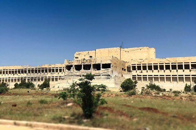 Milli Savunma Bakanlığı, Suriye'ye inşa edilen hastanenin son halini paylaştı