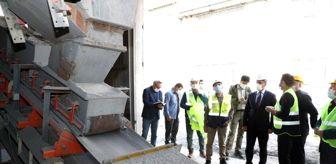 Maden: Vali Balcı, Cumhuriyet tarihinin ilk antimuan madenini gezdi