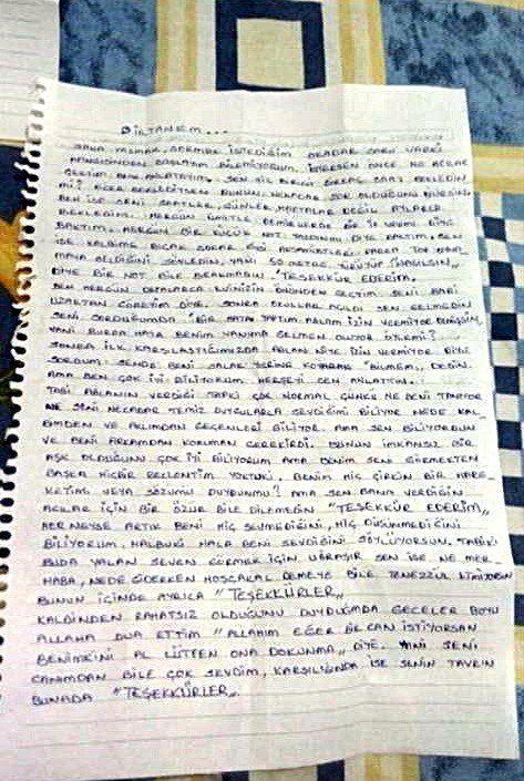 13 yaşındaki kıza aşk mektubu yazan 61 yaşındaki şüpheli tutuklandı
