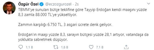 Cumhurbaşkanı Erdoğan'ın maaşına zam! İşte önümüzdeki yıl alacağı ücret