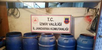 Torbalı: İzmir'de bin 980 litre sahte içki ele geçirildi