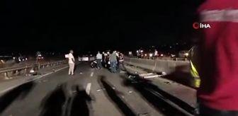 Güzelyurt: KKTC'de feci trafik kazası: 3 ölü
