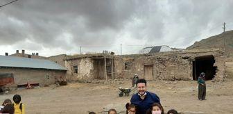 Şarkışla: Şair Özdemir, Şarkışla Samankaya Köyü'nde iyiliği paylaştı