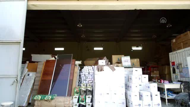 Şanlıurfa'dan İdlib'e insani yardım malzemesi gönderildi