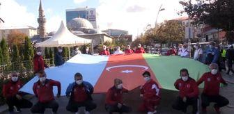 Gençlik Hizmetleri Ve Spor İl Müdürlüğü: 'Türkiye Azerbaycan dostluk yürüyüşü' düzenlendi