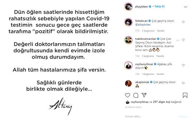 Ünlü şarkıcı Altay'dan kötü haber geldi