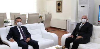 Hüseyin Aksoy: Vali Aksoy'dan, Başkan Atay'a iadeyi ziyaret