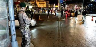 Taksim: 'Yeditepe Huzur' asayiş uygulaması yapıldı
