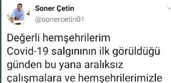 Adana: Çukurova Belediyesi Başkanı Soner Çetin korona virüse yakalandı