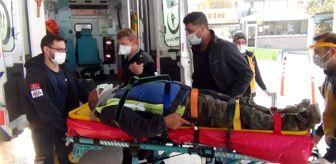 Menderes: Bursa'da demir ustası ölümden döndü