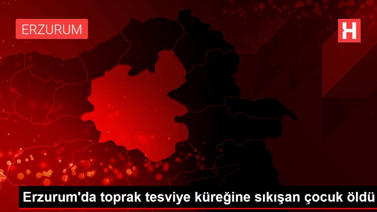 Son dakika haberi: Erzurum'da toprak tesviye küreğine sıkışan çocuk öldü