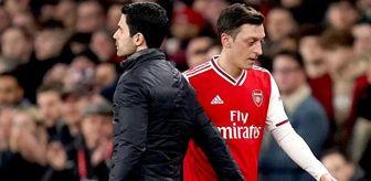 Arsenal: Mesut Özil'i kadro dışı bırakan Arteta kendisini savundu: Tüm sorumluluk benim, vicdanım rahat