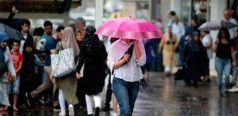 Meteoroloji'den Batı Akdeniz'de sağanak yağış uyarısı