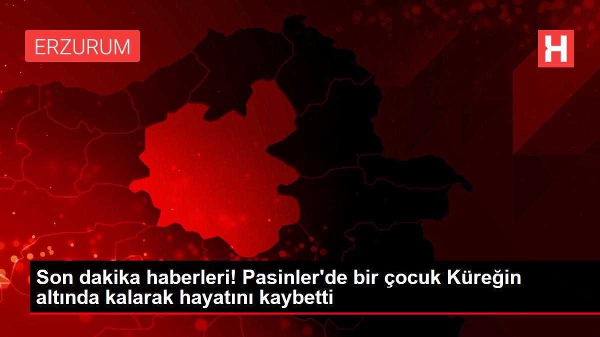 Son dakika haberleri! Pasinler'de bir çocuk Küreğin altında kalarak hayatını kaybetti