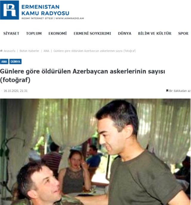 Propagandanın böylesi! Ermenistan ordusuna Serdar Ortaç'ı öldürttüler