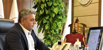 Malatya: Sadıkoğlu TOBB Dayanıklı Tüketim Malları Meclisinde konuştu
