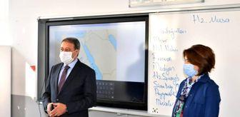 Hasan Şıldak: Vali'den öğrencilere Maske-Mesafe-Temizlik ödevi