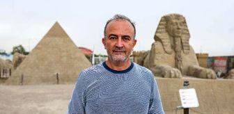 Cem Karaca: 5 yıldır ayakta olan kumdan Keops Piramidi, Guinness'e aday