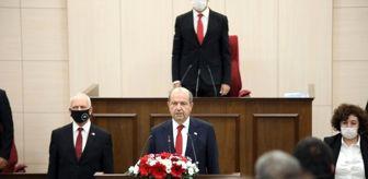 Mustafa Akıncı: - Ersin Tatar, yemin ederek göreve başladı