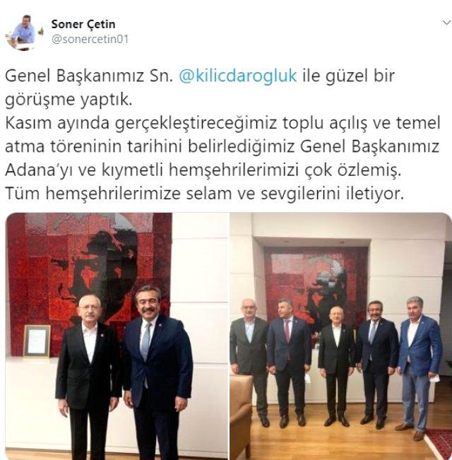Kılıçdaroğlu'nu ziyaret eden belediye başkanı koronaya yakalandı