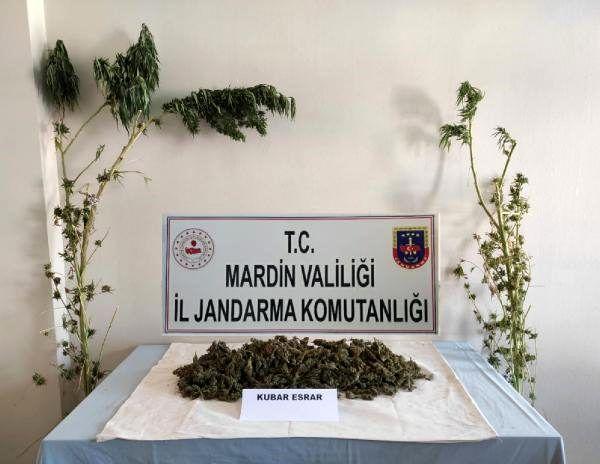 Mardin'de uyuşturucu operasyonu: 2 gözaltı