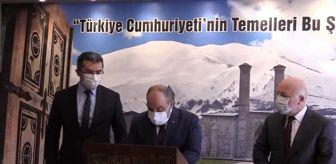 Erzurum: Son dakika haber! Sanayi ve Teknoloji Bakanı Mustafa Varank, Erzurum'da