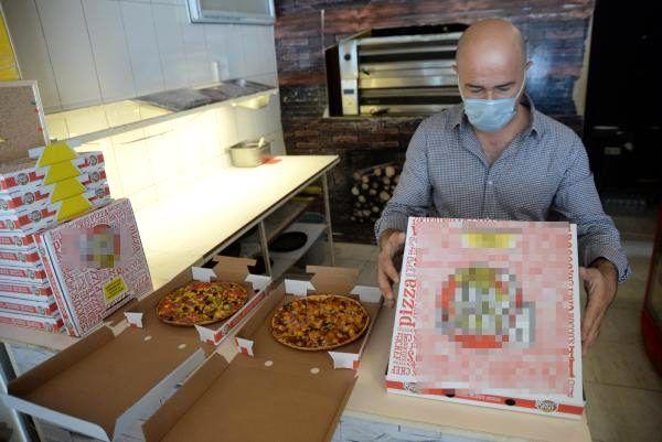 İki kardeşin ürettiği kilitli pizza kutusuna salgında yoğun ilgi: 70 il ve 5 ülkeye satıyorlar