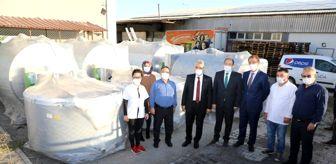 Erzincan: Vali Makas, Süt Analiz Merkezi'nde incelemelerde bulundu