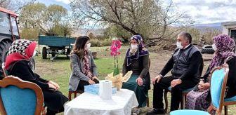 Çıldır: Vali Öner'in eşinden Şehit Ailelerine ziyaret