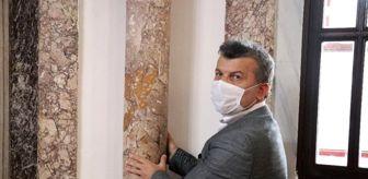 Bolu: Son dakika haber! 638 yıllık tarihi caminin deprem sigortası, dönen denge sütunları