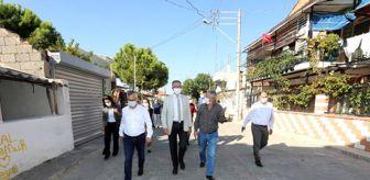 Gaziemir: Başkan Arda ve ekibinden Sarnıç çıkarması
