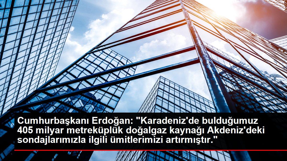 Son dakika haberi! Cumhurbaşkanı Erdoğan: