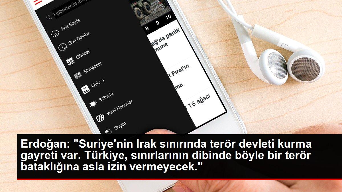 Son dakika: Erdoğan: