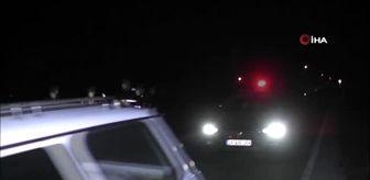 Sulusaray: Otomobil koyun sürüne daldı, 10 koyun telef oldu