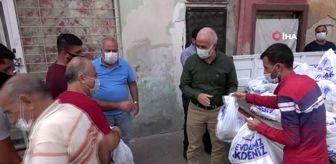 Mersin: Sağlık için 25 ton narenciye dağıtıldı
