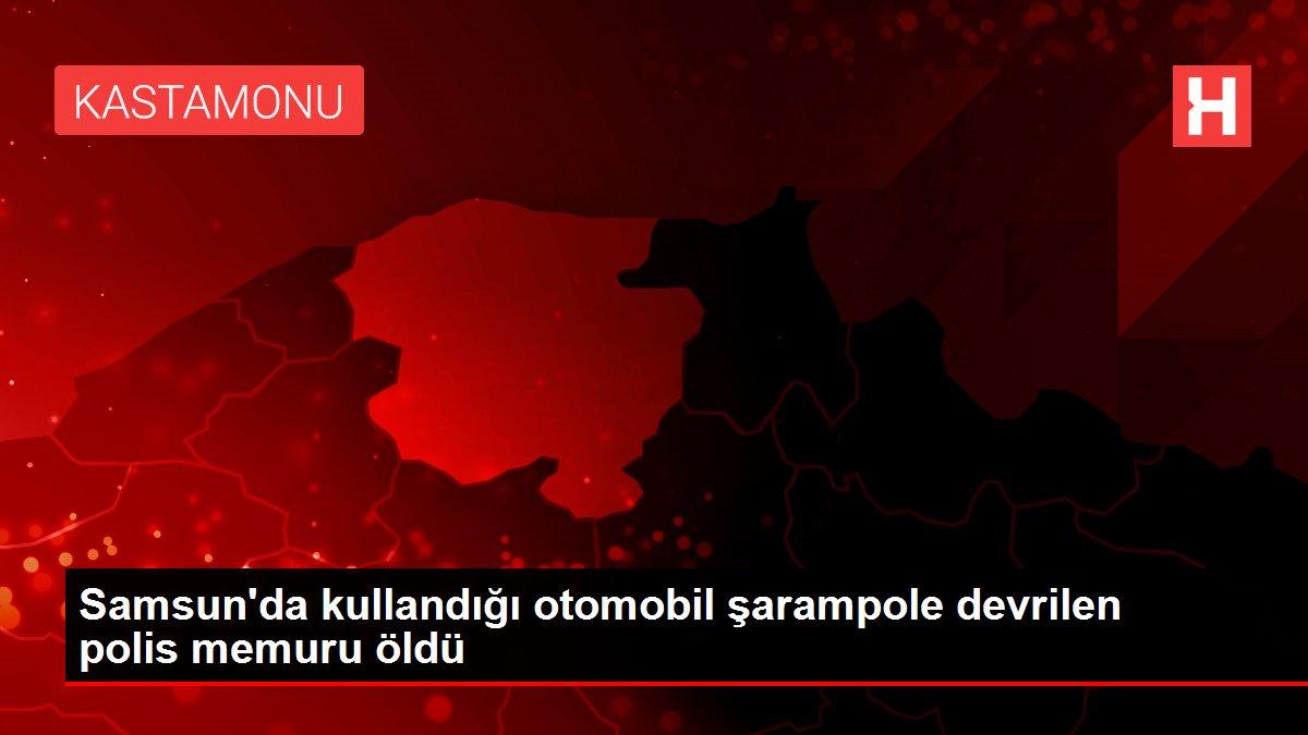 Son dakika haber | Samsun'da kullandığı otomobil şarampole devrilen polis memuru öldü