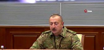 Adalet: - Azerbaycan Cumhurbaşkanı Aliyev: - 'Azerbaycan'ın toprak bütünlüğünü yeniden sağlayacağına eminim'- '100'den fazla yerleşim yeri işgalcilerden...