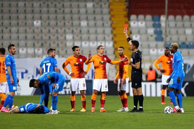Falcao'nun attığı golü öven Rıdvan Dilmen, kırmızı kartı eleştirdi: İnanılmaz, olamaz