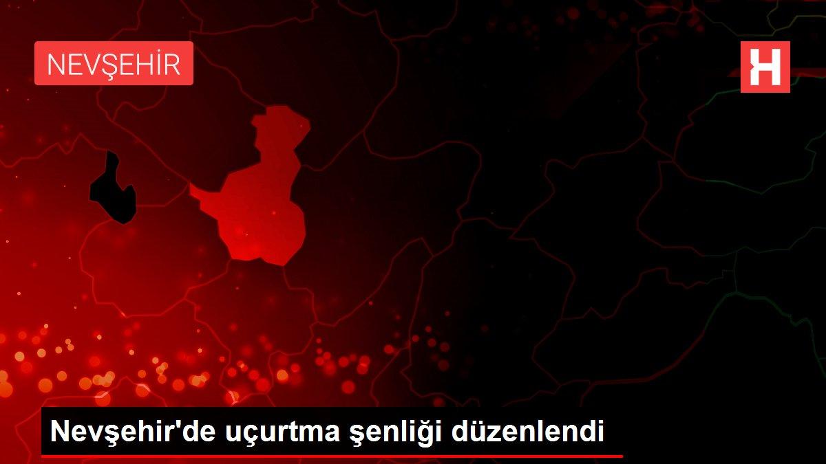 Nevşehir'de uçurtma şenliği düzenlendi