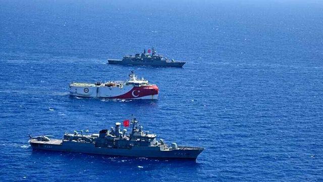 Oruç Reis için yeni NAVTEX ilanı: 4 Kasım'a dek Rodos'un güneyinde görev yapacak