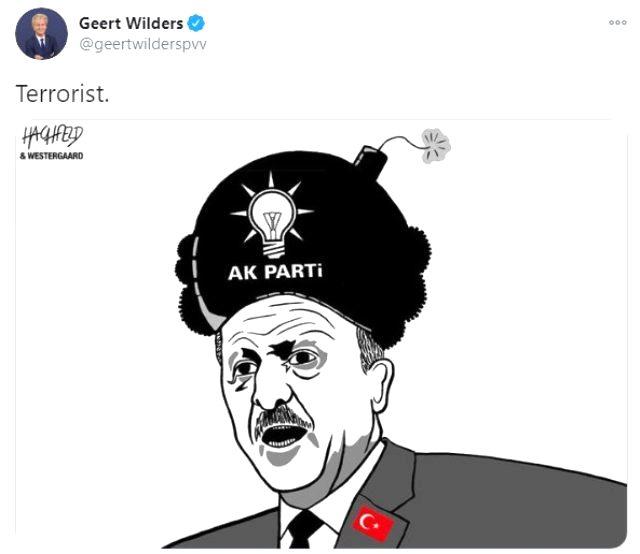 Son Dakika! Çavuşoğlu'ndan Hollandalı parlamenter Wilders'ın skandal paylaşımına tepki: Avrupa'nın ezik ırkçıları yine kendini gösterdi