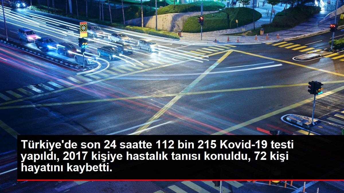 Türkiye de son 24 saatte 112 bin 215 Kovid-19 testi ...