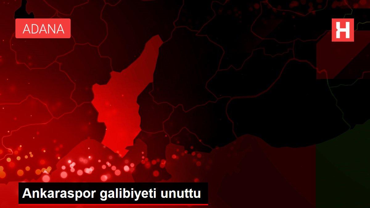 Ankaraspor galibiyeti unuttu