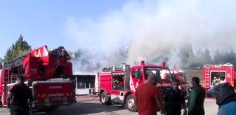 Ataköy: Son dakika! Bakırköy'de halı saha deposunda yangın