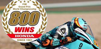 Dünya Şampiyonası: Honda MotoGP'de 800'üncü Grand Prix zaferine ulaştı