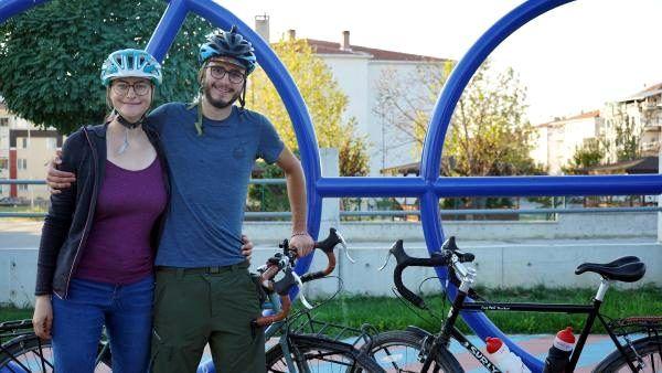İsviçre'den bisikletle dünya turuna çıktılar